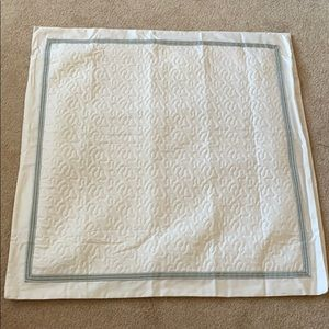 Raymond Waites Quilted Euro Pillow Shams